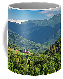 Coffee Mug featuring the photograph Mount Mansfield Summer by Alan L Graham