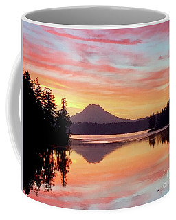 Mount Rainier Dawn Coffee Mug