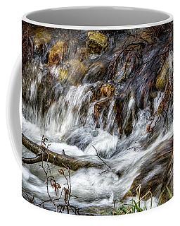 Mountain Stream Coffee Mug by Elaine Malott
