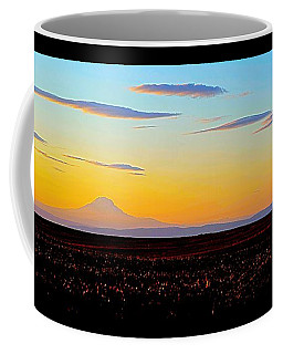 Mt. Adams Sunset Coffee Mug