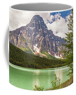 Coffee Mug featuring the photograph Mt. Chephren by Mark Mille