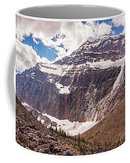 Coffee Mug featuring the photograph Mt. Edith Cavell  by Mark Mille