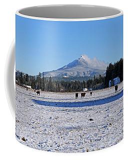 Mt. Pilchuck Coffee Mug by Rebecca Parker