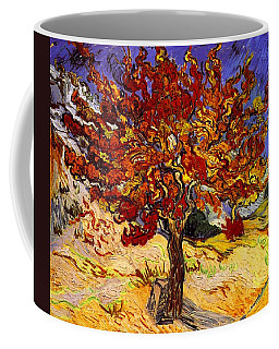 Coffee Mug featuring the painting Mulberry Tree by Van Gogh