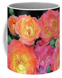Multi-color Roses Coffee Mug