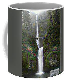 Multnomah Falls Coffee Mug by Scott Cameron