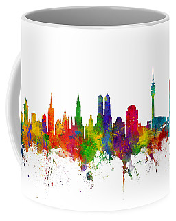 Munich Germany Skyline Coffee Mug