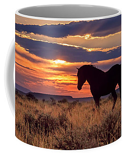 Mustang Sunset Coffee Mug