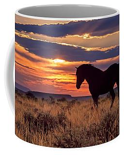 Mustang Sunset Coffee Mug