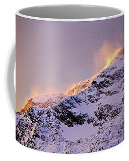 mystery mountains in North of Norway Coffee Mug