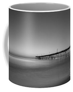 Nags Head Fishing Pier Sunrise Coffee Mug by Michael Ver Sprill