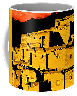 Native American Sunset Coffee Mug