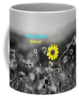 Nature's  Smile Coffee Mug by Joseph S Giacalone