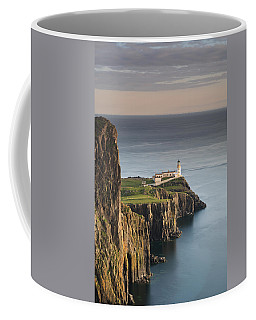 Coffee Mug featuring the photograph Neist Point At Sunset by Maria Gaellman