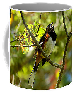 Towhee In Song Coffee Mug
