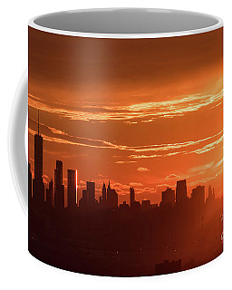 New York City Sunrise Coffee Mug