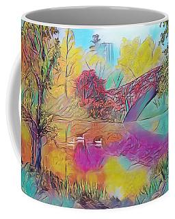 New York In Fall Coffee Mug
