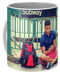 New York Subway Station Coffee Mug