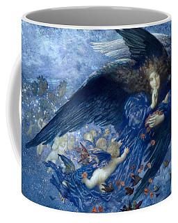 Night With Her Train Of Stars Coffee Mug