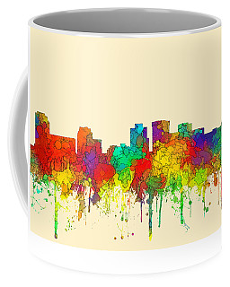 Norfolk Virginia Skyline Coffee Mug