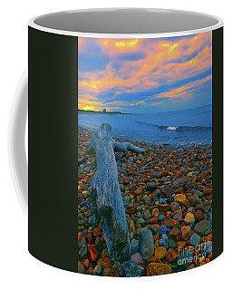 North Lighthouse Sunset Coffee Mug