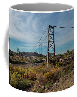 North Span, Yuma Bridge To Nowhere Coffee Mug