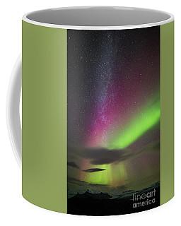 Coffee Mug featuring the photograph Northern Lights 3 by Mariusz Czajkowski