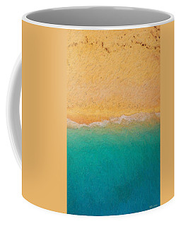 Not Quite Rothko - Surf And Sand Coffee Mug