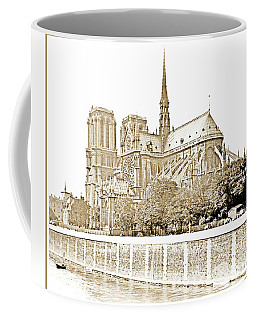 Notre Dame Cathedral, Paris, France, 1903 Coffee Mug