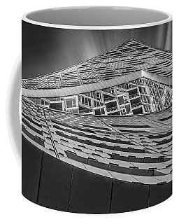 Coffee Mug featuring the photograph Nyc West 57 St Pyramid by Susan Candelario
