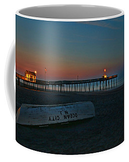 Ocean City  N J Sunrise Coffee Mug