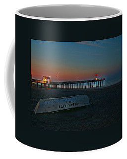 Ocean City  N J Sunrise Coffee Mug by Allen Beatty
