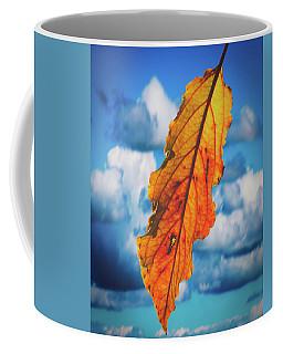 October Leaf B Fine Art Coffee Mug