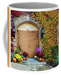 Coffee Mug featuring the photograph October Welcome by Trey Foerster
