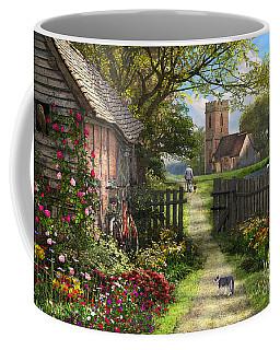 Old Church Path Coffee Mug