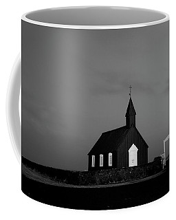 Old Countryside Church In Iceland Coffee Mug