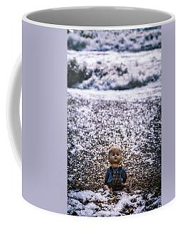 Old Doll On The Beach Coffee Mug