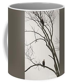 Old Friends - Winter Companions Coffee Mug by David Bearden