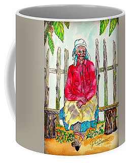 Old Migrant Worker, Resting, Arcadia, Florida 1975 Coffee Mug