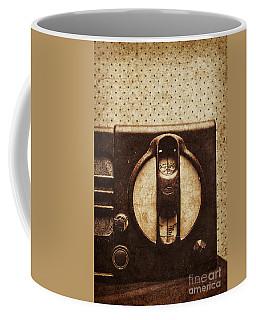 Old Radio Nostalgia Coffee Mug