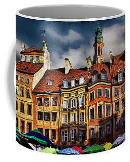Old Town In Warsaw #8 Coffee Mug