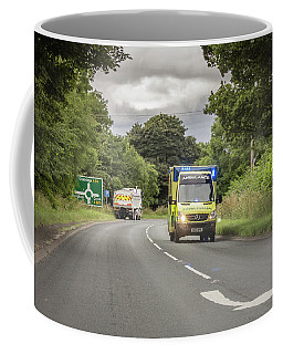 On The Way To Help Coffee Mug