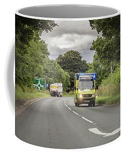 On The Way To Help Coffee Mug by RKAB Works