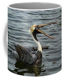 Open Wide Coffee Mug by Jean Noren