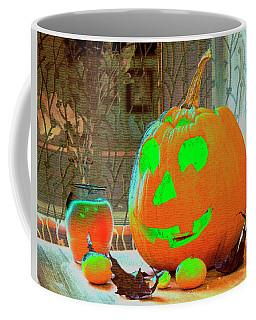 Orange Halloween Decoration Coffee Mug