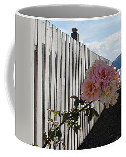 Orcas Island Rose Coffee Mug
