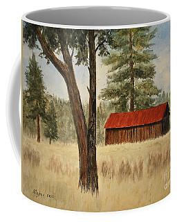 Oregon Barn Coffee Mug