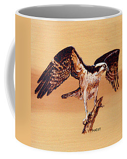 Osprey Coffee Mug by Ron Haist