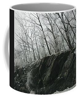 Coffee Mug featuring the photograph Out Of The Rocks by Ellen Levinson