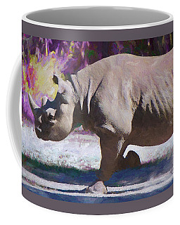 Coffee Mug featuring the painting Outraged by Judy Kay